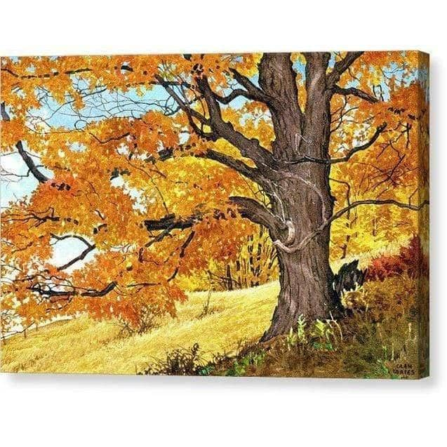 Autumn Day - Canvas Print by Glen Loates from the Glen Loates Store