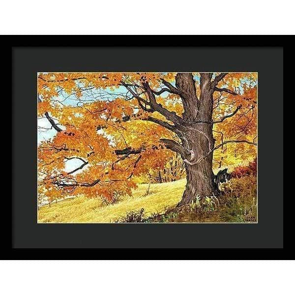 Autumn Day - Framed Print by Glen Loates from the Glen Loates Store