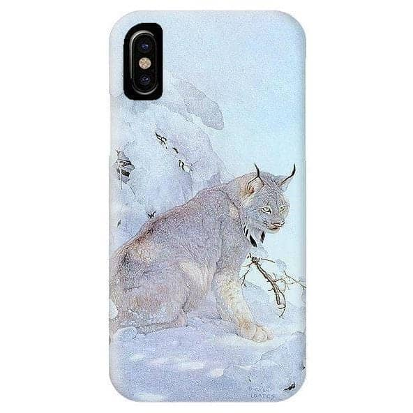 Canada Lynx - Phone Case by Glen Loates from the Glen Loates Store