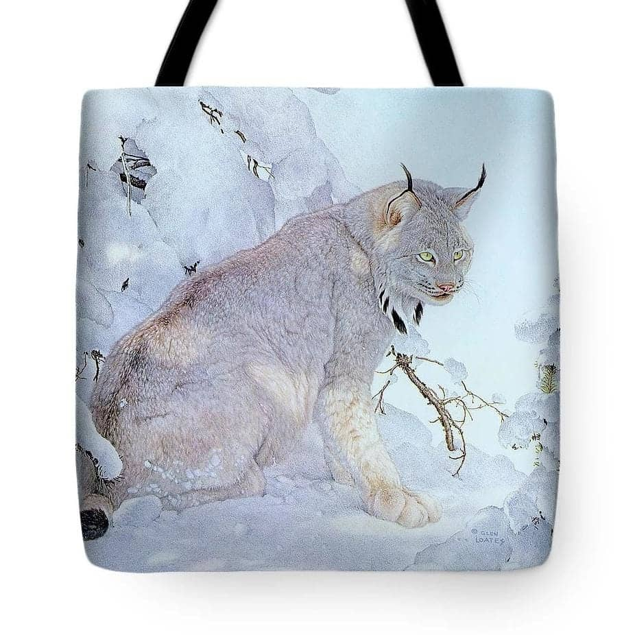Canada Lynx - Tote Bag-Tote Bag-The Official Glen Loates Store