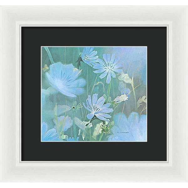 Chicories - Framed Print | The Official Glen Loates Store