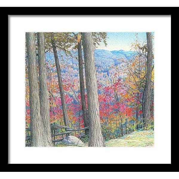 Hockley Valley Rock - Framed Print - The Official Glen Loates Store