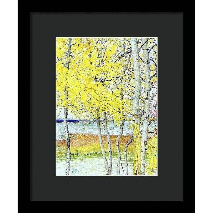 Lac Cardinal Peace River - Framed Print by Glen Loates from the Glen Loates Store