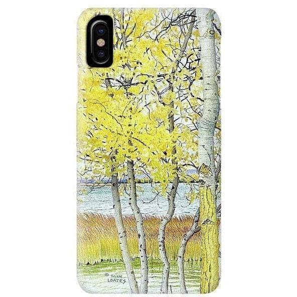 Lac Cardinal Peace River - Phone Case by Glen Loates from the Glen Loates Store