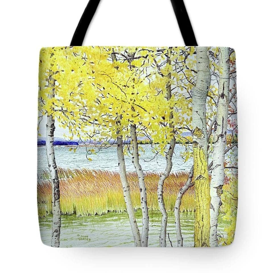 Lac Cardinal Peace River - Tote Bag by Glen Loates from the Glen Loates Store