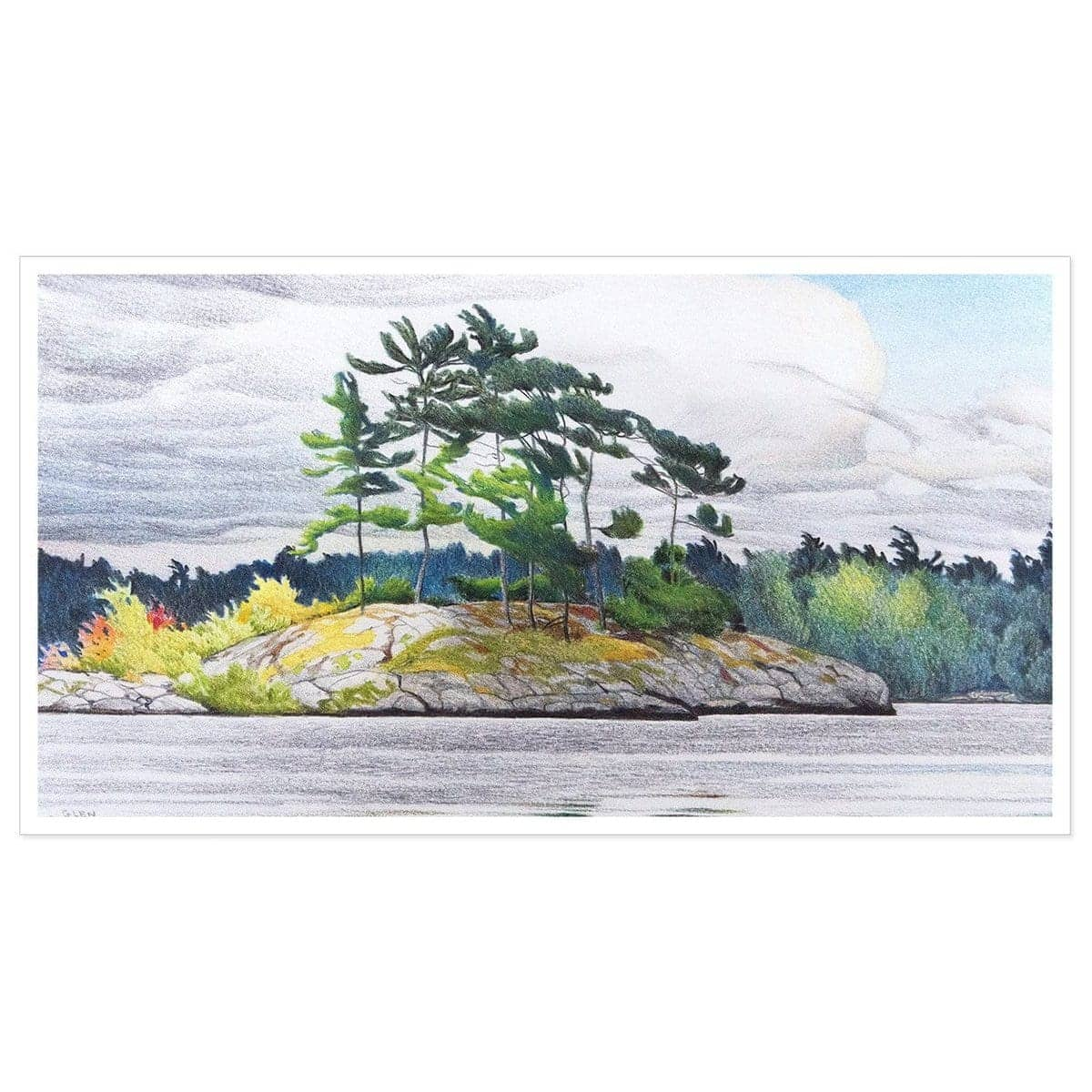 Northern Tribute - Art Print by Glen Loates from the Glen Loates Store
