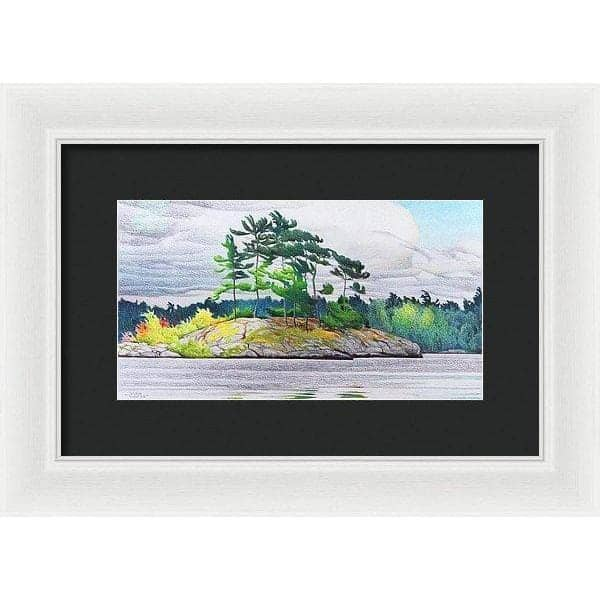 Northern Tribute - Framed Print by Glen Loates from the Glen Loates Store