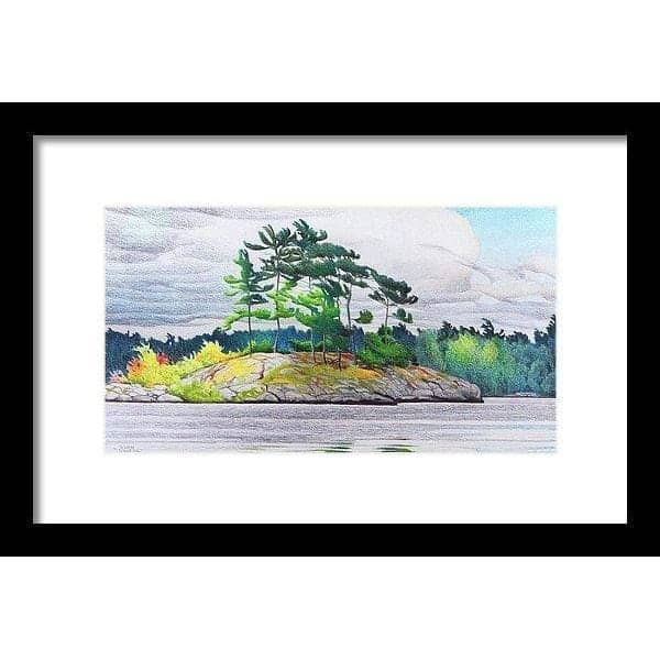 Northern Tribute - Framed Print-Framed Print-The Official Glen Loates Store