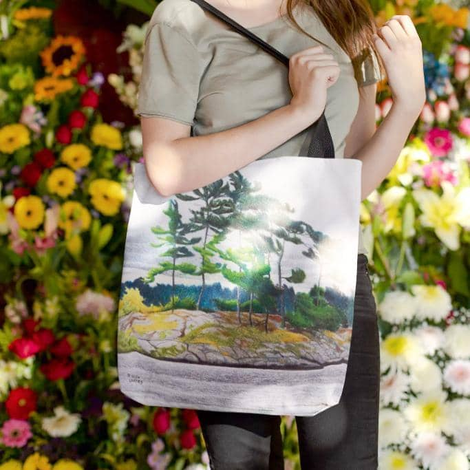 Northern Tribute - Tote Bag by Glen Loates from the Glen Loates Store