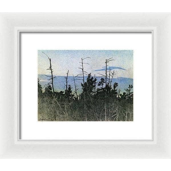 Over Twilight - Framed Print by Glen Loates from the Glen Loates Store