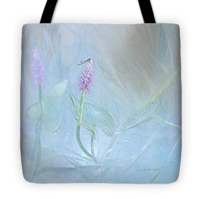 Pickerelweed - Tote Bag by Glen Loates from the Glen Loates Store