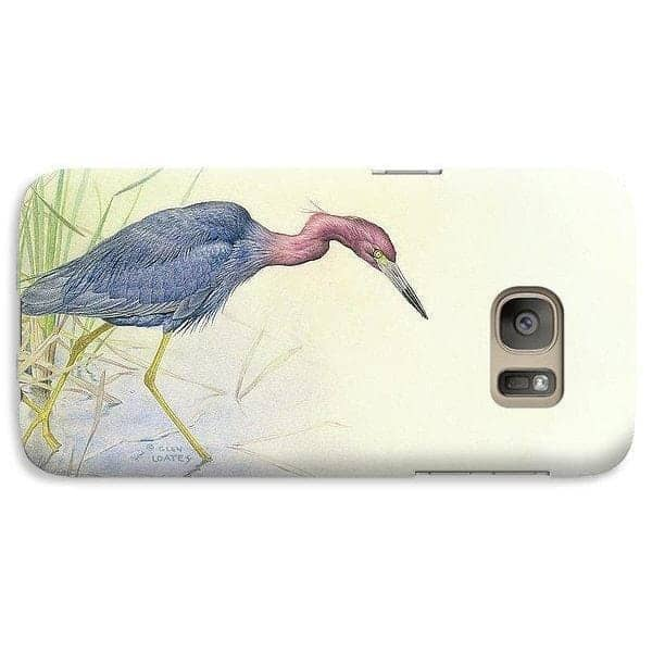 Purple Heron - Phone Case - The Official Glen Loates Store