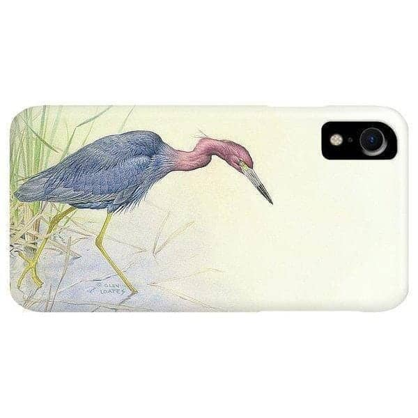 Purple Heron - Phone Case by Glen Loates from the Glen Loates Store