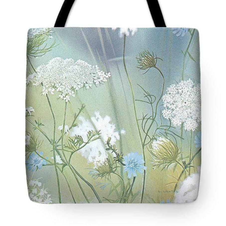 Queen Annes Lace - Tote Bag