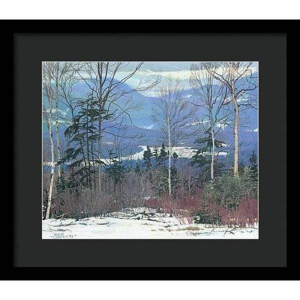 Saddleback - Framed Print - The Official Glen Loates Store