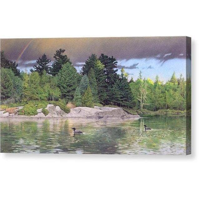 Storm's End - Canvas Print by Glen Loates from the Glen Loates Store
