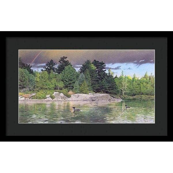 Storm's End - Framed Print by Glen Loates from the Glen Loates Store