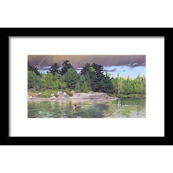 Storm's End - Framed Print-Framed Print-The Official Glen Loates Store