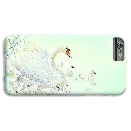 Swan Family - Phone Case-Phone Case-The Official Glen Loates Store