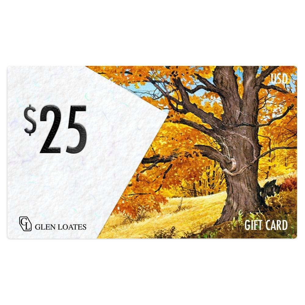 The Glen Loates Store Gift Card by Glen Loates from the Glen Loates Store