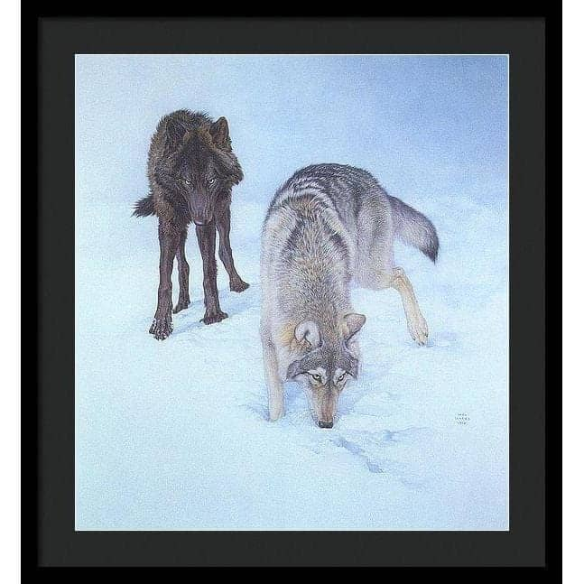 Tracking The Scent - Framed Print - The Official Glen Loates Store
