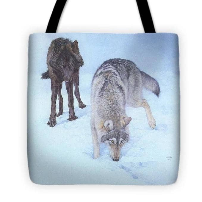 Tracking The Scent - Tote Bag-Tote Bag-The Official Glen Loates Store