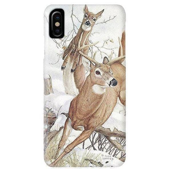 White-tailed Deer - Phone Case by Glen Loates from the Glen Loates Store