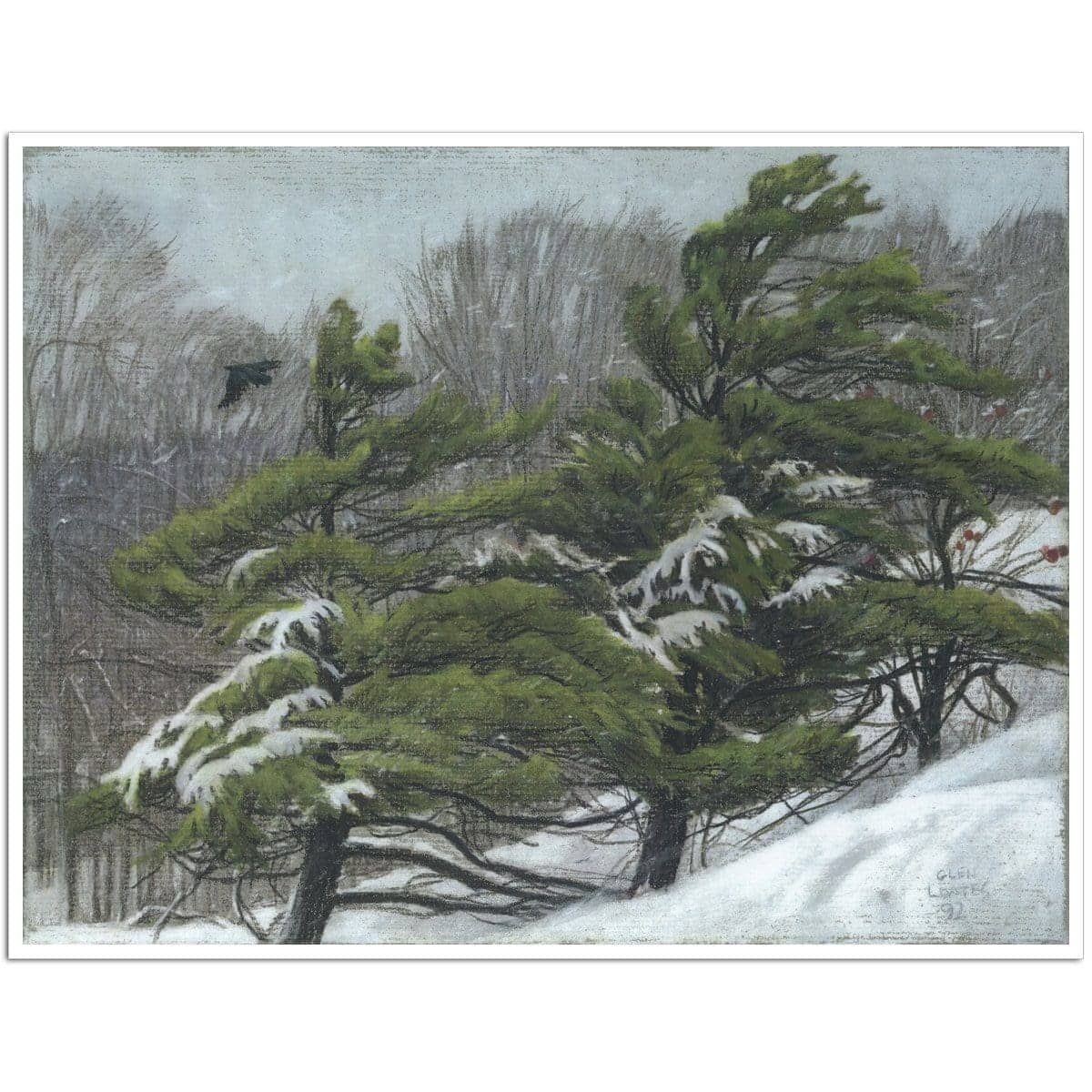 Winter Storm - Art Print - The Official Glen Loates Store