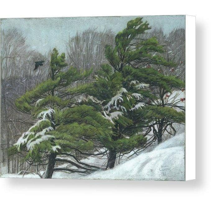 Winter Storm - Canvas Print - The Official Glen Loates Store