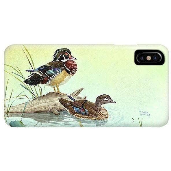 Wood Ducks - Phone Case by Glen Loates from the Glen Loates Store