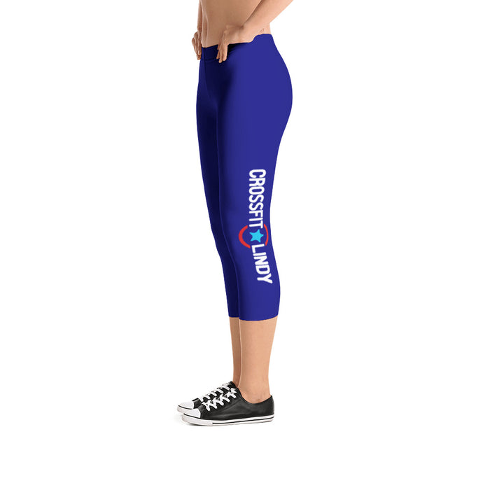 CFL Side Leg Capri Leggings