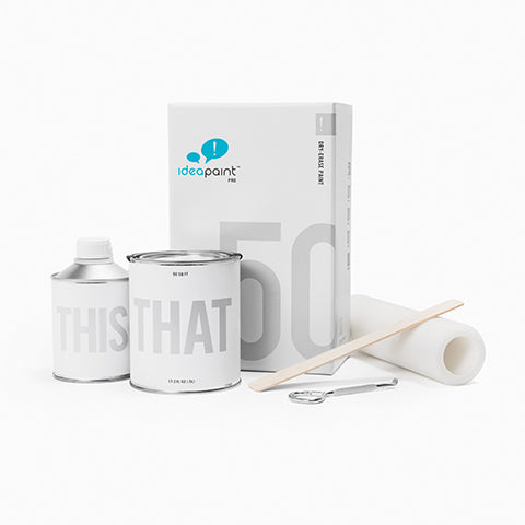 IdeaPaint PRO dry erase whiteboard paint