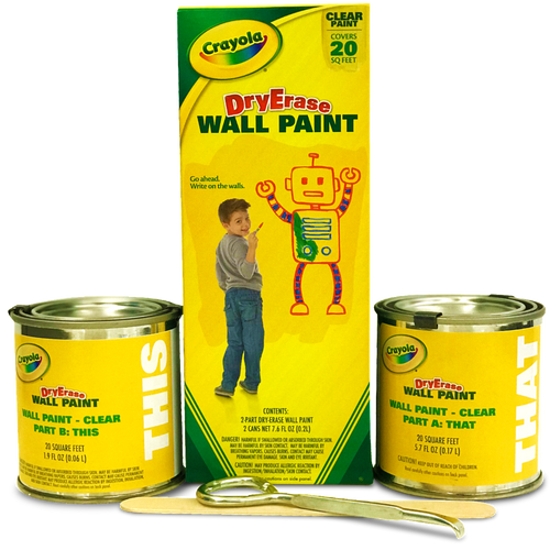 dry erase wall paint classroom crayola dry erase wall paint clear ideapaint us