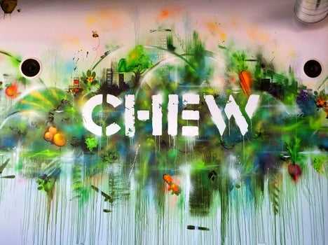 chew-sign