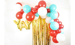 Balloon Garland Decoration Tutorial Video