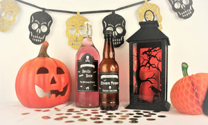 Halloween Blog I Halloween Party Ideas I Free Halloween Party Bottle Labels Template Downloadable I My Dream Party Shop Blog