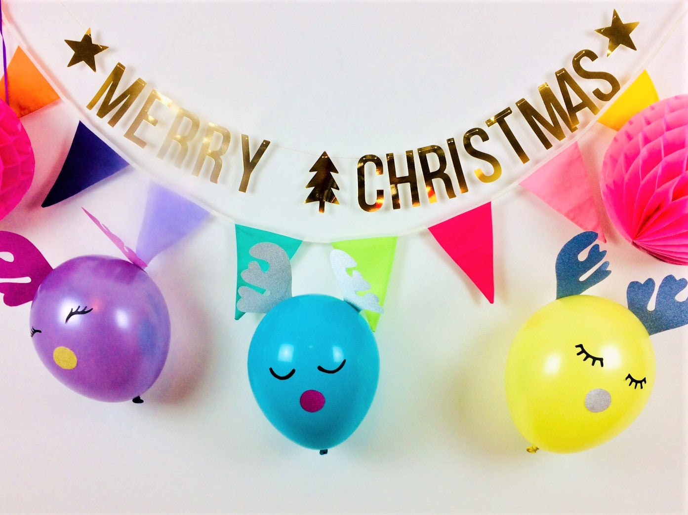 Fun Festive Reindeer Balloon Tutorial Blog