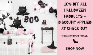 Modern Halloween Party Supplies I Halloween Products and Balloons I My Dream Party Shop UK