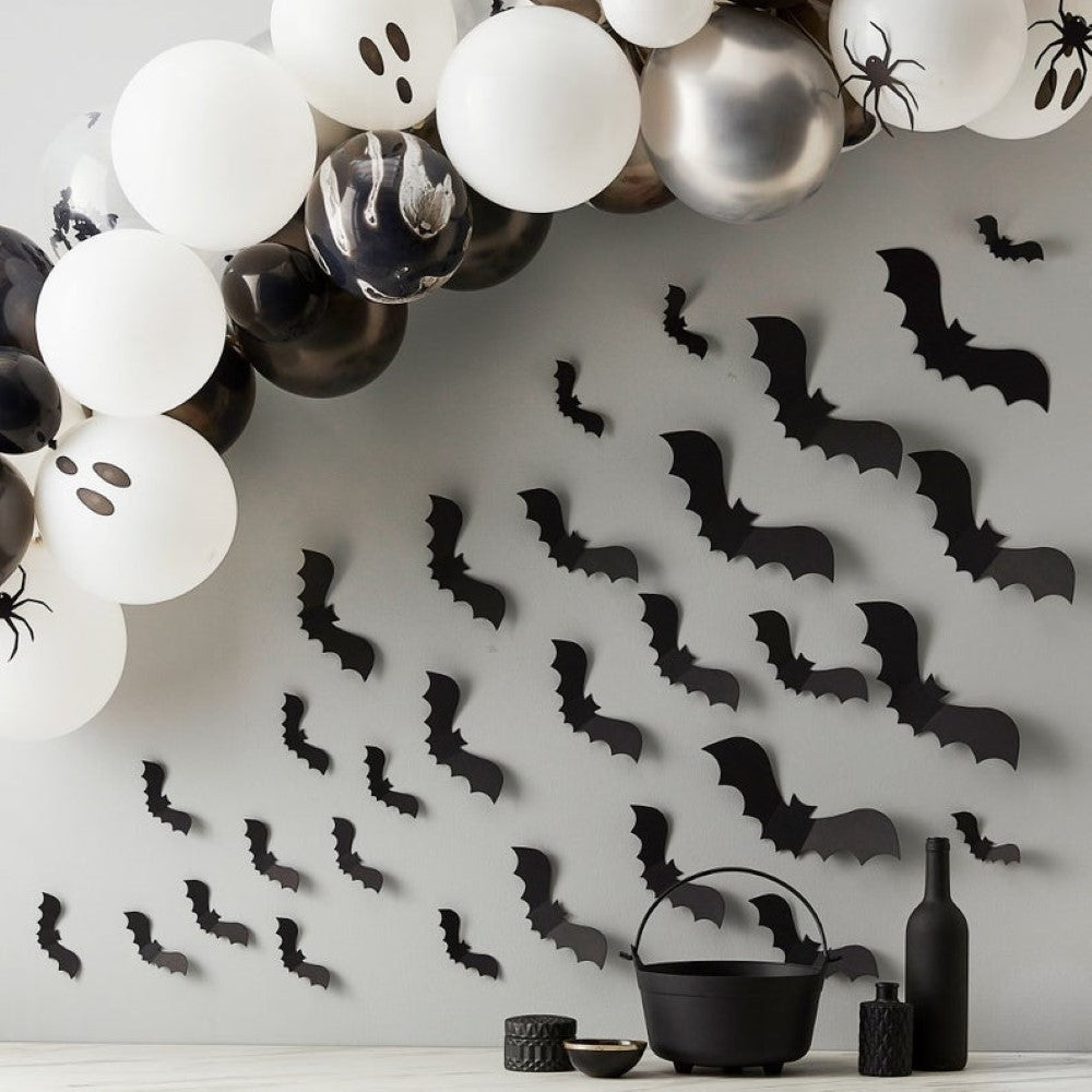 Bats on the Wall Decorations I Halloween Party I My Dream Party Shop
