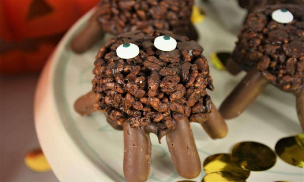Halloween Party Blog - Chocolate Spiders Recipe - My Dream Party Shop