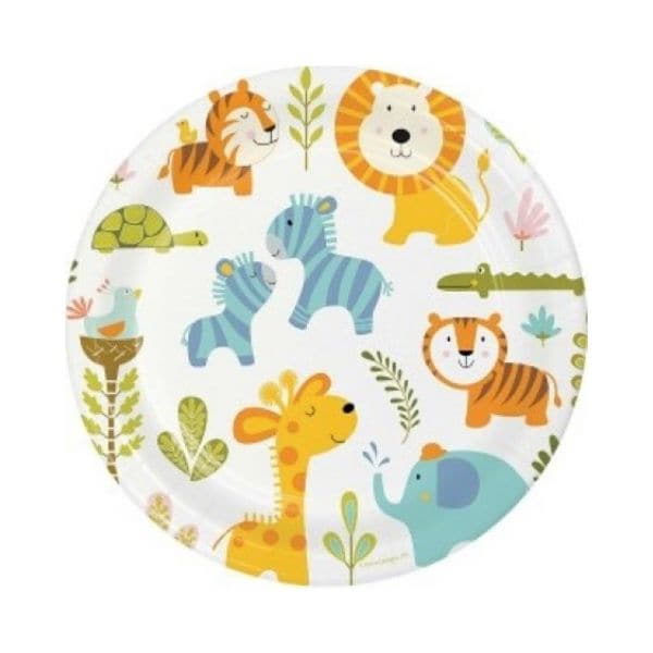 Happy Jungle Party Collection I First Birthday Party Tableware and Decorations I My Dream Party Shop I UK