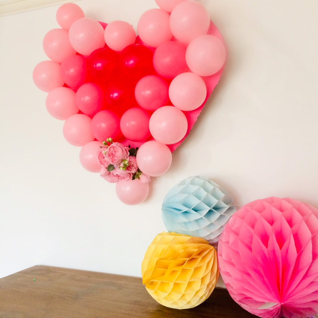 Valentines Party Blog I Heart Shaped Balloon Party Decoration I My Dream Party Shop Blog I UK