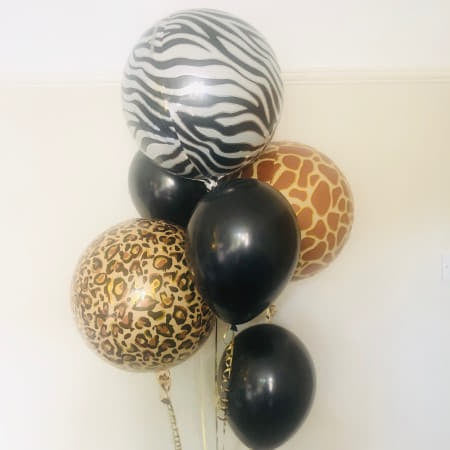 Jungle Orbz Balloon Cluster I Jungle Party Supplies I My Dream Party Shop Ruislip