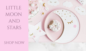 Little Moon and Stars 1st Birthday Party Collection UK