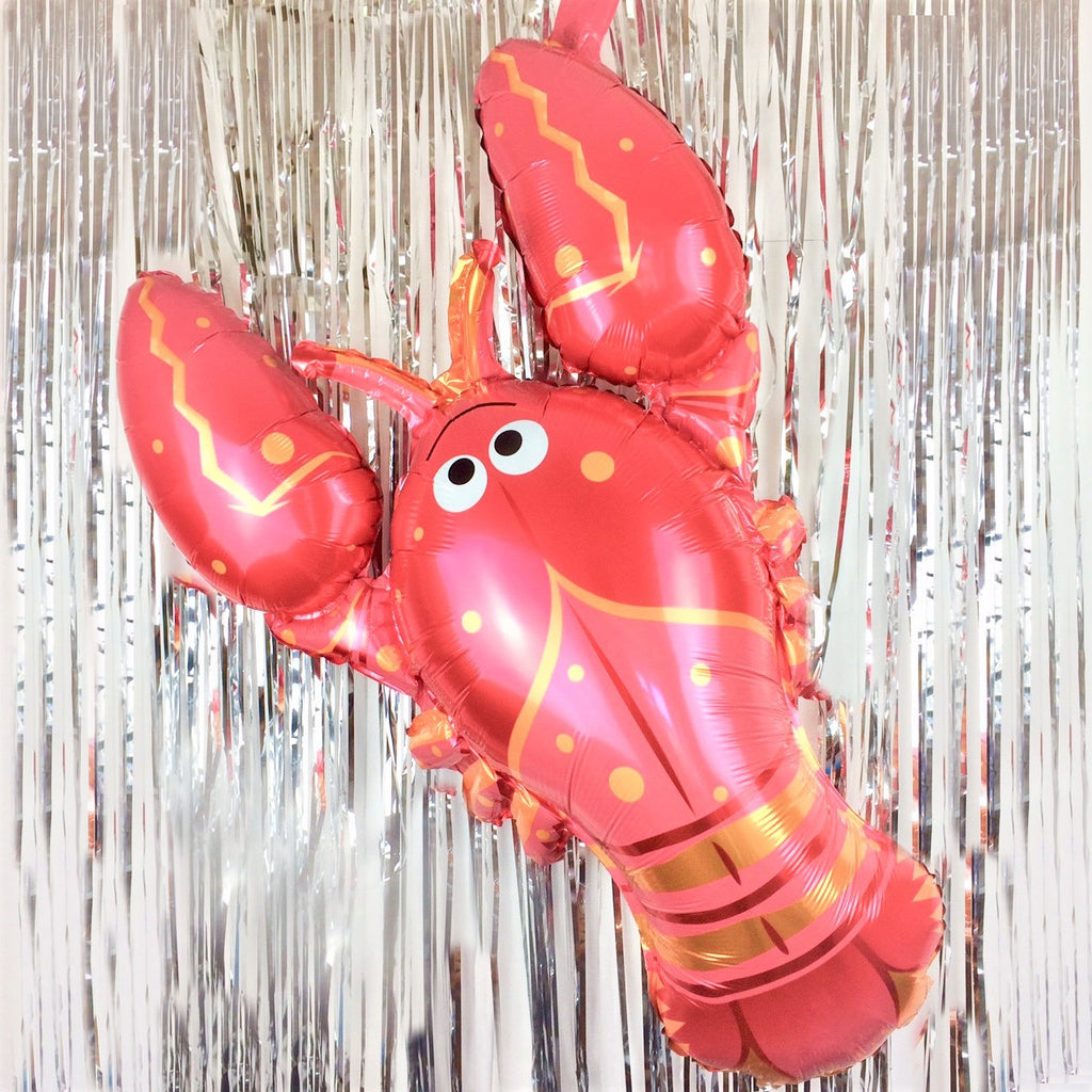 Large Red Lobster Foil Balloon I Under the Sea Theme Party Blog I My Dream Party Shop I UK