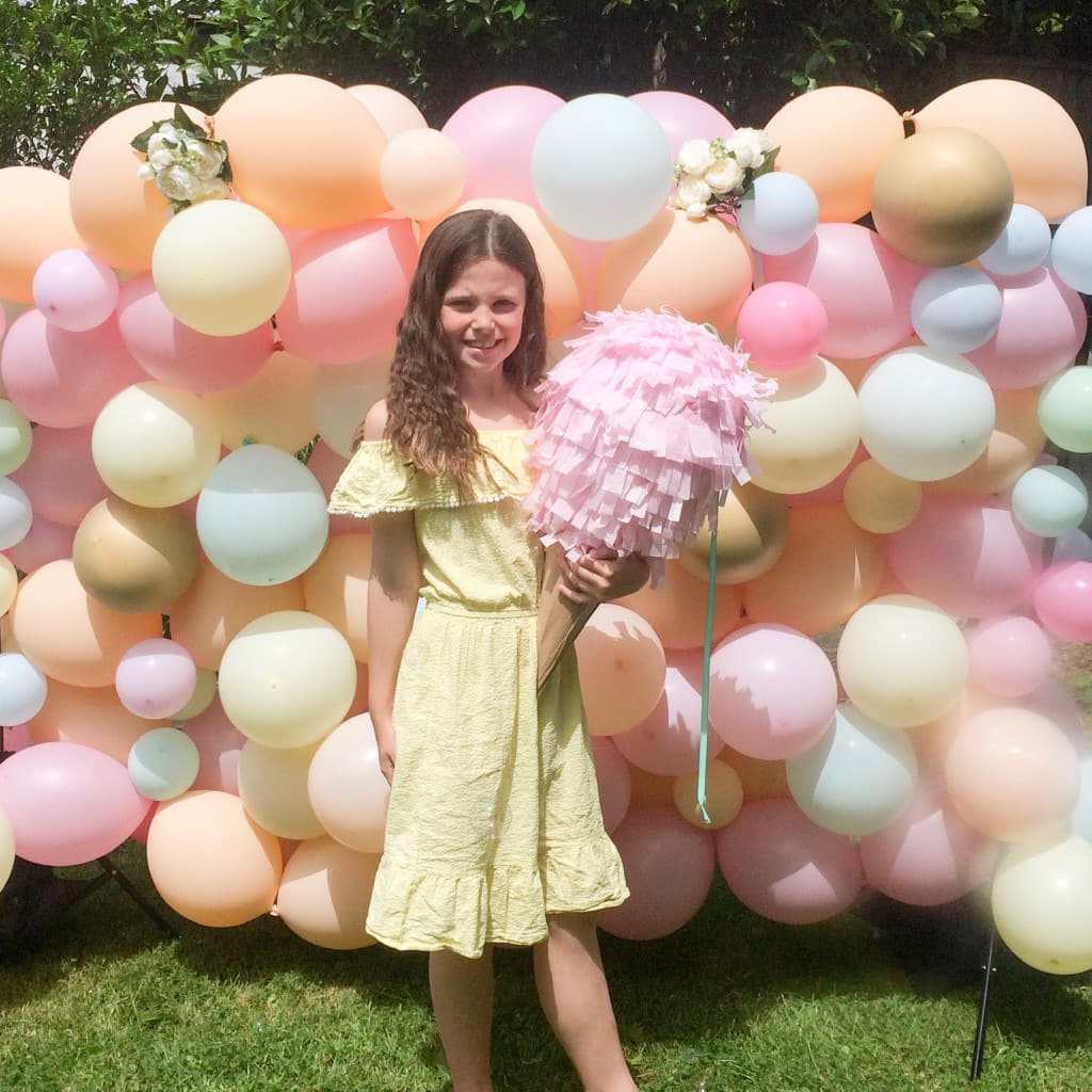Organic Pastel Balloon Wall