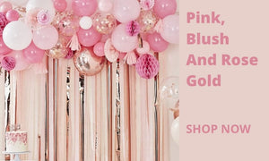 Pink, Blush & Rose Gold I Modern Party Collections I My Dream Party Shop UK