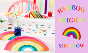 Rainbow Party Supplies and Decorations UK