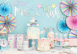 Make a Wish Unicorn Party Collection My Dream Party Shop