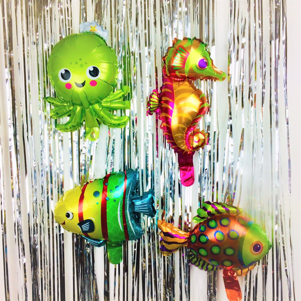 Sea Creatures Fish Balloons